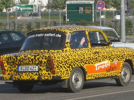 An old Trabant in Berlin